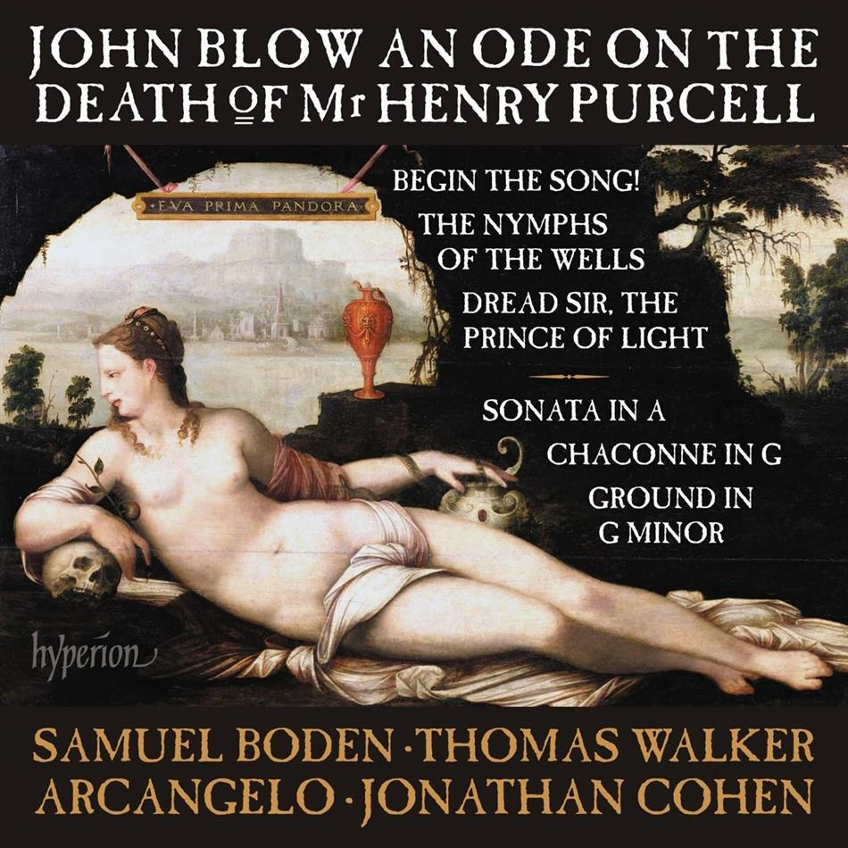 Samuel Boden, Thomas Walker, John Blow (1649-1708), Jonathan Cohen & Arcangelo - Ode On The Death Of Mr. Henry Purcell