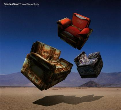 Gentle Giant - Three Piece Suite - 5.1 & 2.0 Steven Wilson MIx (CD + Blu-ray)