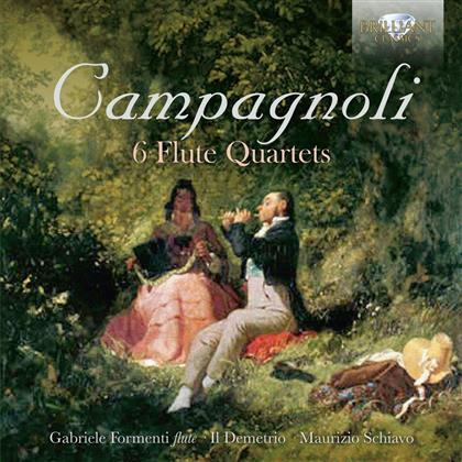 Bartolomeo Campagnoli, Maurizio Schiavo, Gabriele Formenti & Il Demetrio - 6 Flute Quartets
