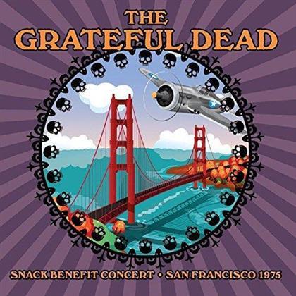 The Grateful Dead, Tower Of Power, Santana, The Doobie Brothers, Jefferson Starship, … - Snack Benefit Concert San Francisco 1975 (5 CDs)