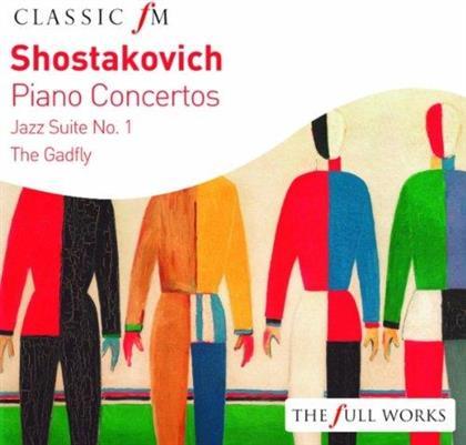 Cristina Ortiz, Anna Vinnitskaya & Dimitri Schostakowitsch (1906-1975) - Klavierkonzerte - Classic fM