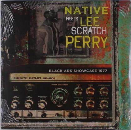 """Native & Perry Lee""""Scratch"""" - Black Ark Showcase 1977 - Native Meets Lee Scratch Perry (LP)"""
