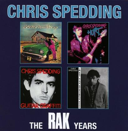 Chris Spedding - Rak Years Box Set (4 CDs)