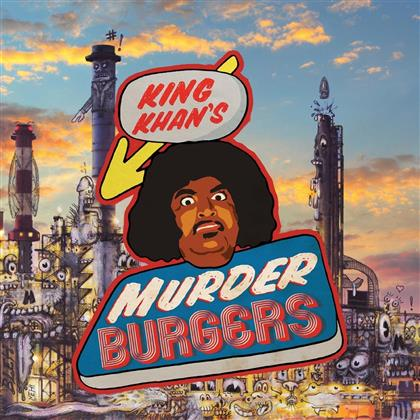 King Khan & The Gris Gris - Murderburgers (LP)