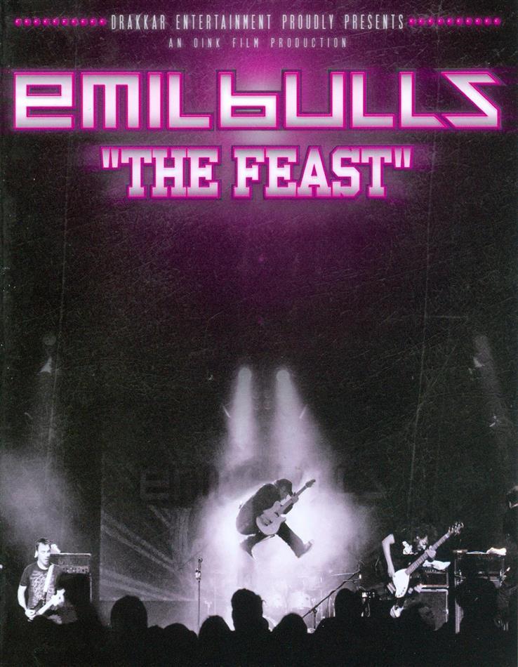 Emil Bulls - The Feast - Concert DVD + Audio DVD (Digipack, 2 DVDs)