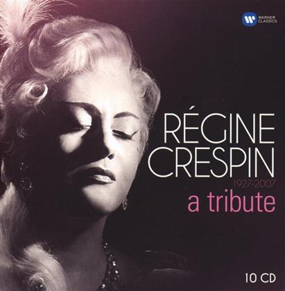 Regine Crespin, Georges Prêtre, Michel Plasson, Lombard, Héctor Berlioz (1803 - 1869), … - Regine Crespin: A Tribute (10 CDs)