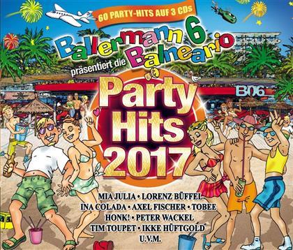 Ballermann 6 Balneario Präsentiert die Party Hits 2017 (3 CDs)