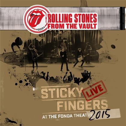 The Rolling Stones - Sticky Fingers - Live At The Fonda Theatre 2015 (3 LPs + DVD)