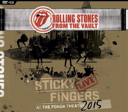 The Rolling Stones - Sticky Fingers - Live At Fonda Theater 2015 (CD + DVD)