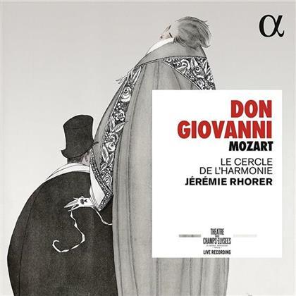 Myrto Papatanasiu, Julie Boulianne, Wolfgang Amadeus Mozart (1756-1791), Jérémie Rhorer & Le Cercle de L'Harmonie - Don Giovanni (3 CDs)