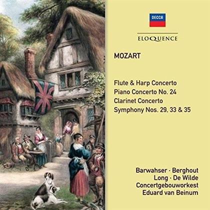 Wolfgang Amadeus Mozart (1756-1791) - Symphonies & Concertos (2 CDs)