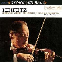 Jean Sibelius (1865-1957) & Jascha Heifetz - Violin Concerto In D Minor / Violin - Analogue Productions (LP)