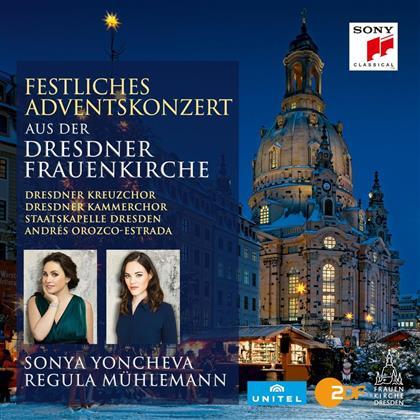 Sächsische Staatskapelle Dresden, Yoncheva, Mühlemann & Orozco-E. - Festliches Adventskonzert 2016 - Dresdner Frauenkirche