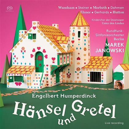 Christian Elsner, Albert Dohmen, Engelbert Humperdinck (1854-1921), Marek Janowski & Rundfunk Sinfonieorchester Berlin - Hänsel Und Gretel (2 SACDs)