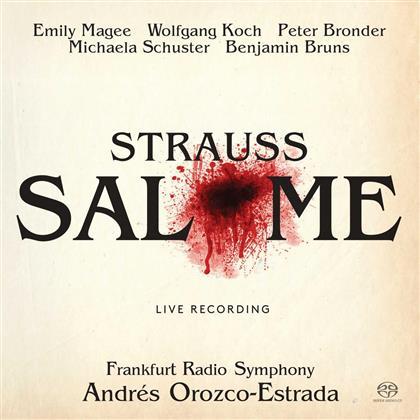 Emily Magee, Benjamin Bruns, Richard Strauss (1864-1949), Andres Orozco-Estrada & HR Sinfonieorchester - Salomé (2 SACDs)