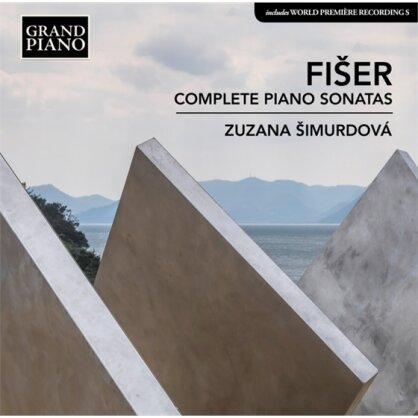 Simurdova Zuzana & Lubos Fiser - Complete Piano Sonatas