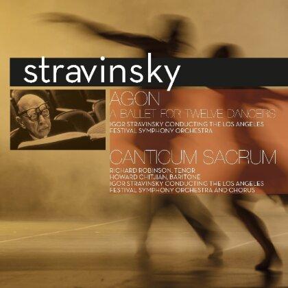 Igor Strawinsky (1882-1971) - Agon / Canticum Sacrum - Vinyl Passion (LP)
