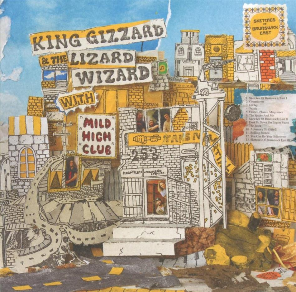 King Gizzard & The Lizard Wizard & Mild High Club - Sketches Of Brunswick East
