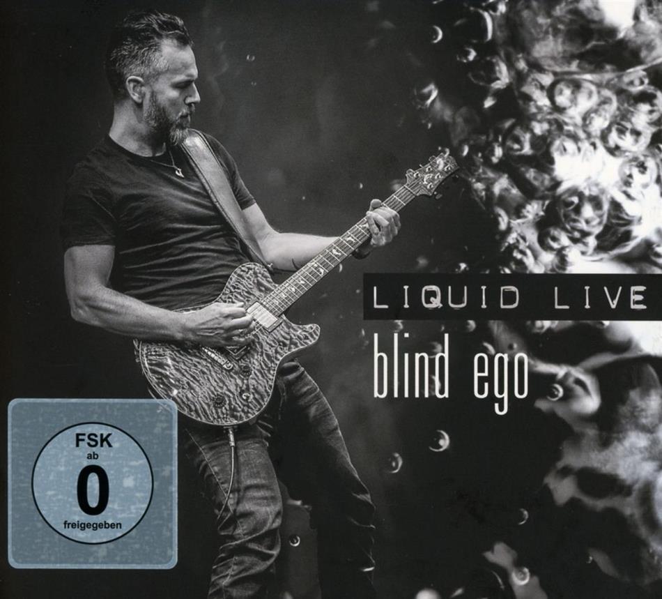 Blind Ego - Liquid Live (CD + DVD)