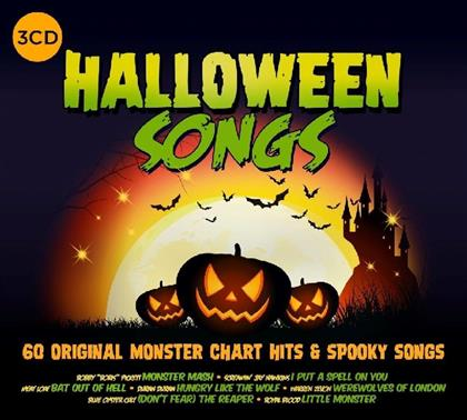 Halloween Songs (3 CDs)