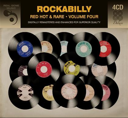 Rockabilly - Red Hot And Rare Vol. 4 (4 CDs)