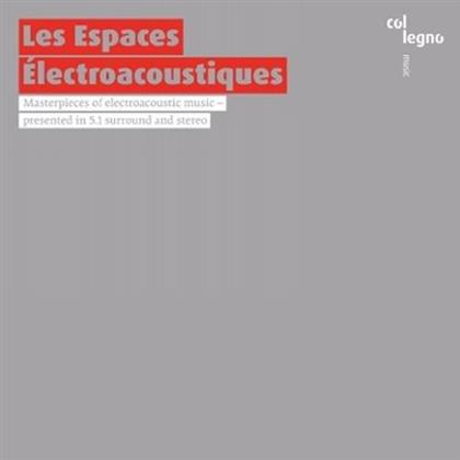 Lachenmann, György Ligeti (1923-2006), Luciano Berio (1925 - 2003), Pierre Boulez (*1925) & + - Les Espaces Electroacoustiques - 5.1 Surround & Stereo (2 Hybrid SACDs)