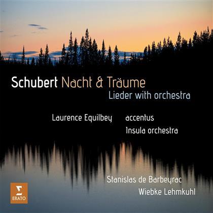 Franz Schubert (1797-1828), Wiebke Lehmkuhl, Franz Schubert (1797-1828) & Laurence Equilbey - Nacht & Träume - Lieder Orchestriert