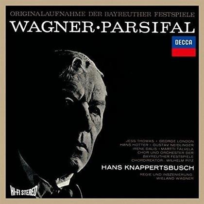 Thomas Jess, Hans Hotter, Irene Dalis, Richard Wagner (1813-1883), Hans Knappertsbusch, … - Parsifal - Aufnahme 1962