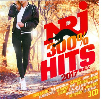 Nrj 300% Hits 2017 Vol.2 (3 CDs)