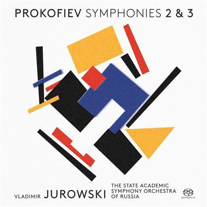 Serge Prokofieff (1891-1953) & Vladimir Jurowski (1915-1972) - Symphonies Nos. 2 & 3 (SACD)