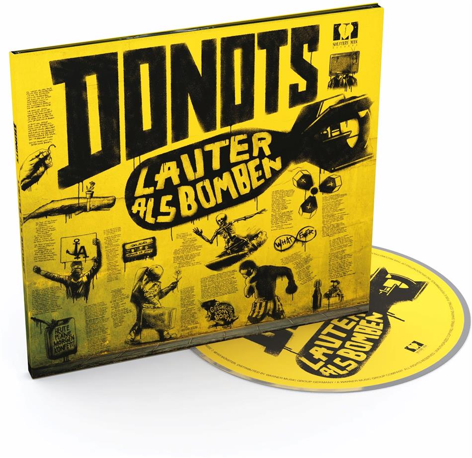 Donots - Lauter Als Bomben (Digipack)