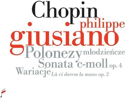 Philippe Giusiano & Frédéric Chopin (1810-1849) - Polonaises/Sonata In C Minor
