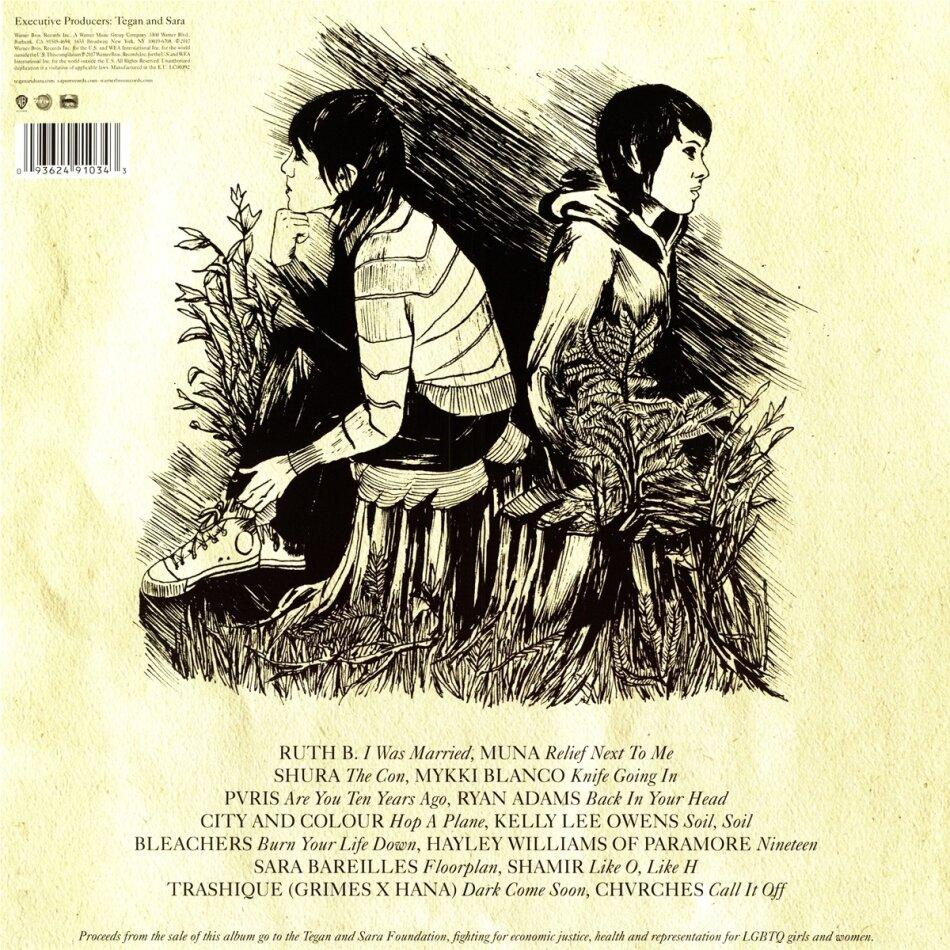 The Con X Covers Lp By Tegan Amp Sara Cede Ch