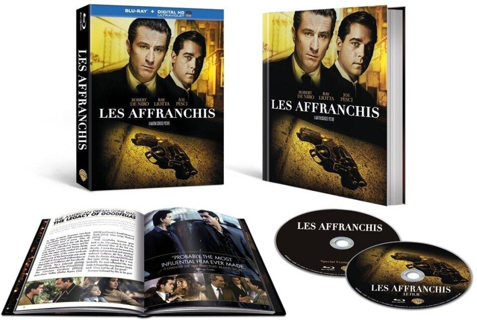 Les affranchis (1990) (Edizione Limitata 25° Anniversario, 2 Blu-ray)