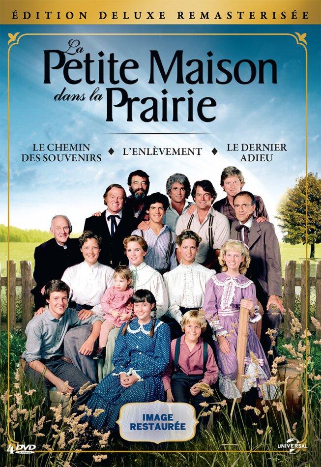 La petite maison dans la prairie - L'intégrale des téléfilms (Deluxe Edition, Remastered, 4 DVDs)