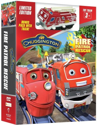 Chuggington - Fire Patrol Rescue (with Toy Train) (Limited Edition)