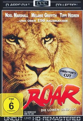 Roar - Die Löwen sind los (1981) (Classic Cult Collection, Director's Cut, Remastered, Uncut)