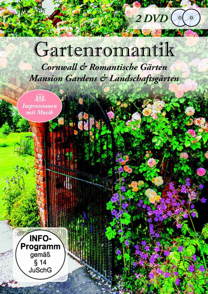 Gartenromantik - Cornwall & Romantische Gärten - Mansion Gardens & Landschaftsgärten (2 DVDs)