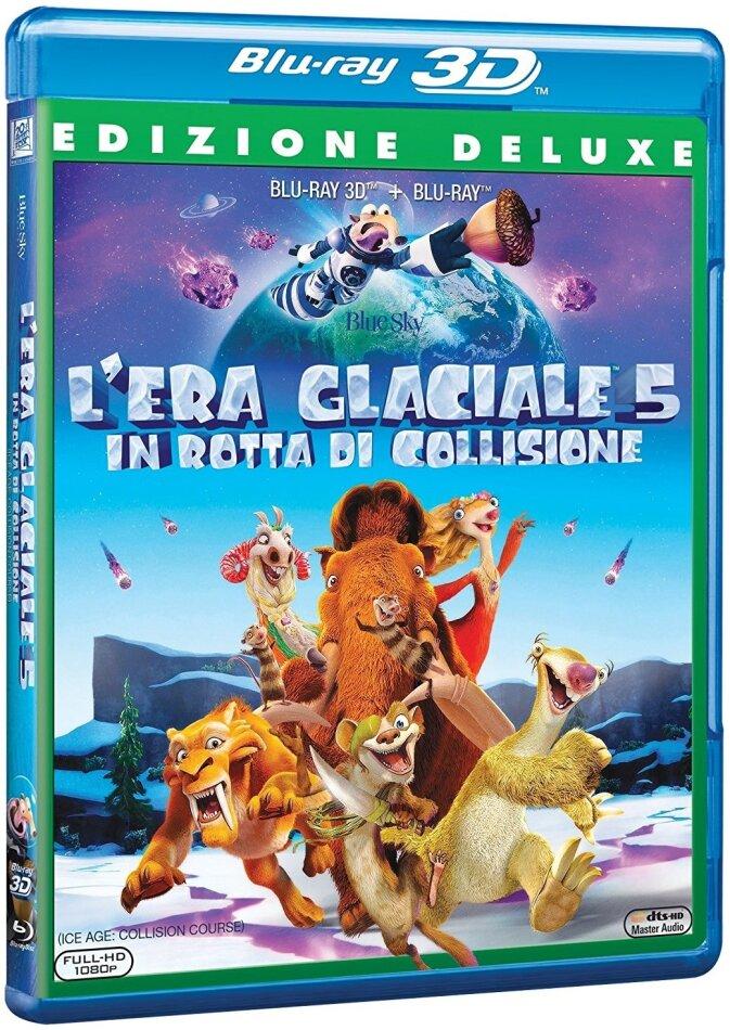 L'era glaciale 5 - In rotta di collisione (2016) (Deluxe Edition, Blu-ray 3D + Blu-ray)