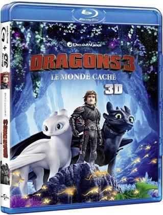 Dragons 3 - Le monde caché (2019) (Blu-ray 3D + Blu-ray)