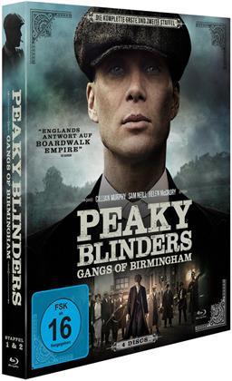 Peaky Blinders - Gangs of Birmingham - Staffel 1 + 2 (4 Blu-rays)