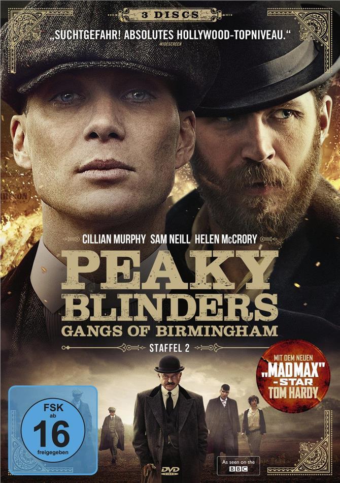 Peaky Blinders - Gangs of Birmingham - Staffel 2 (3 DVDs)