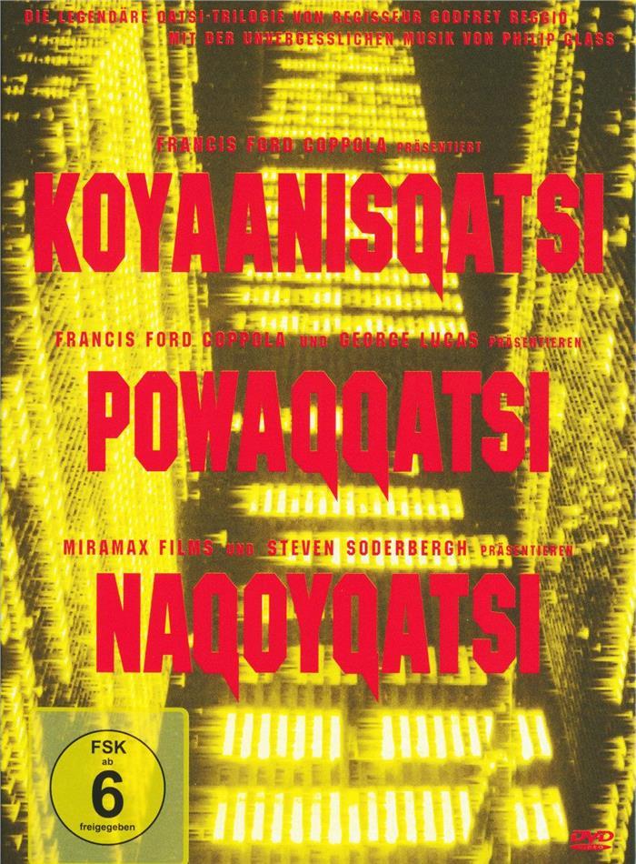 Koyaanisquatsi / Powaqqatsi / Naqoyqatsi - Die Qatsi-Trilogie (3 DVDs)