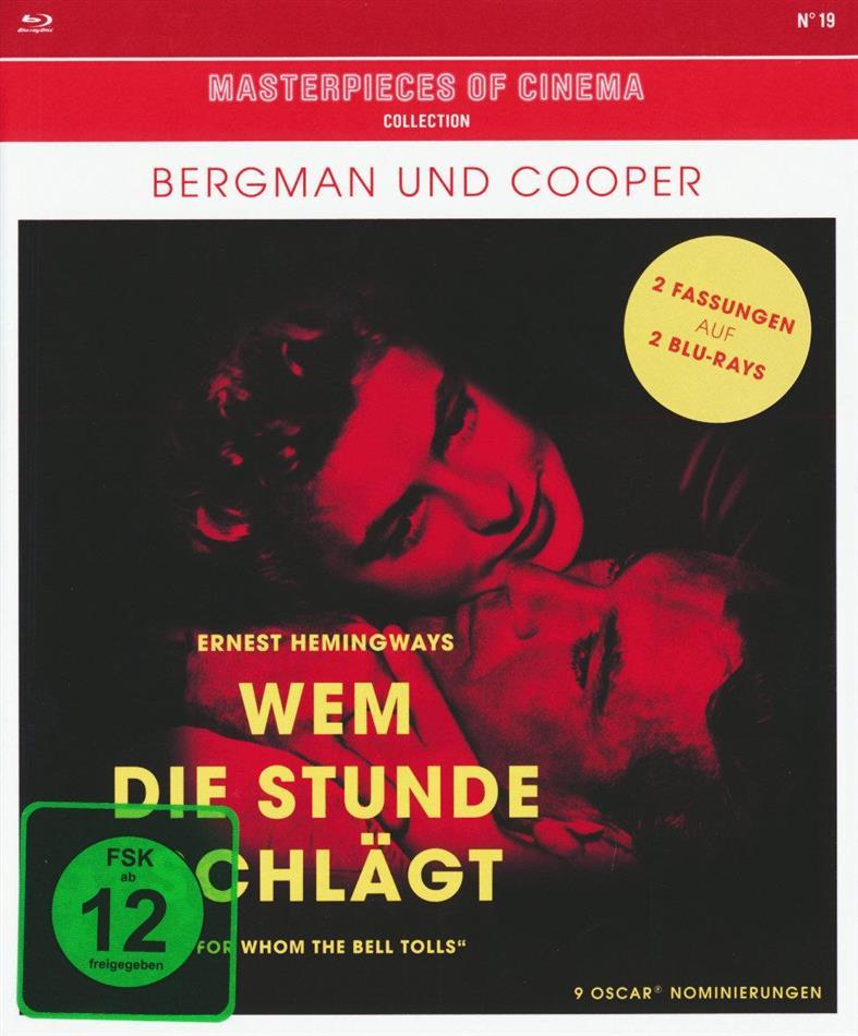 Wem die Stunde schlägt - (Masterpieces of Cinema) (1943) (Extended Edition, Kinoversion, 2 Blu-rays)