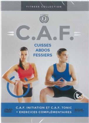 C.A.F. - Cuisses, abdos, fessiers - De l'initiation au perfectionnement (Fitness Collection)