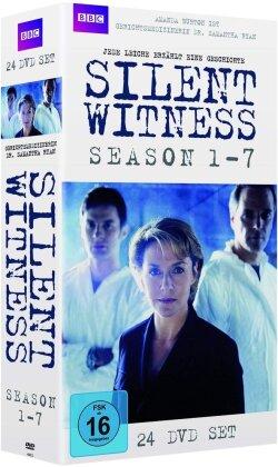 Silent Witness - Staffel 1 - 7 (24 DVDs)