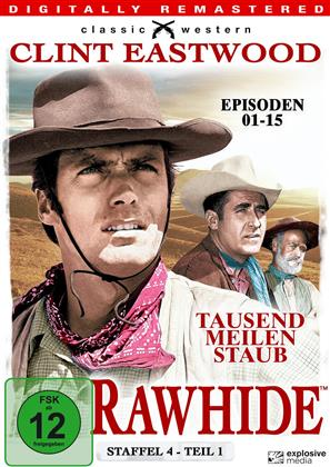 Rawhide - Staffel 4.1 (s/w, Remastered, 4 DVDs)