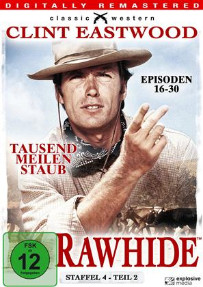 Rawhide - Staffel 4.2 (s/w, Remastered, 4 DVDs)
