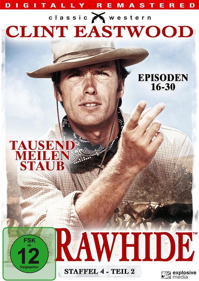 Rawhide - Staffel 4.2 (s/w, Remastered, 4 DVDs)