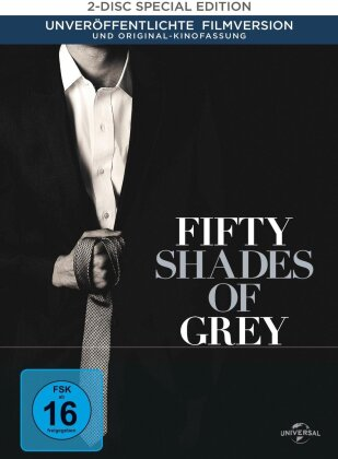 Fifty Shades of Grey (2015) (Digibook, Limited Edition, 2 DVDs)